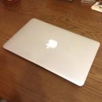 mac air買いました!