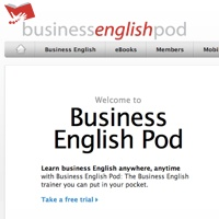ビジネス英語の強化に -Business English Pod