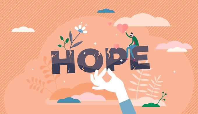 将来的な希望のイメージ