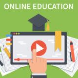 オンラインの資格スクールのイメージ
