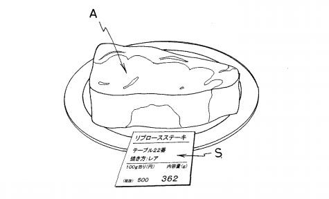 いきなりステーキ特許