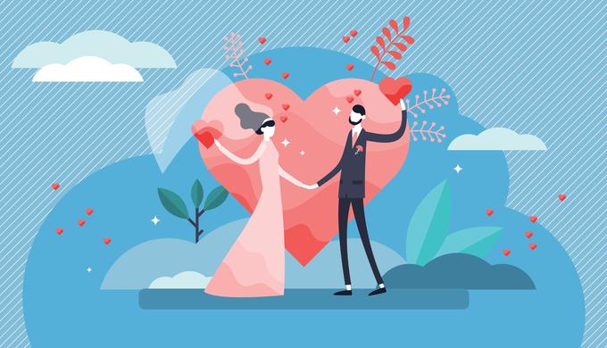 結婚相手のイメージ