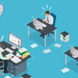 大企業の仕事のイメージ